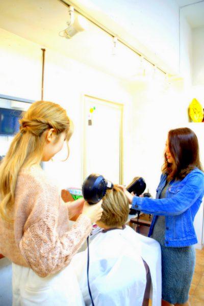 美容室における女性美容師の必要性